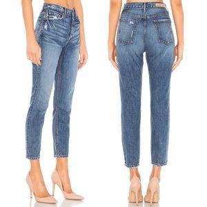 GRLFRND Karolina High Rise Distressed Skinny Jeans